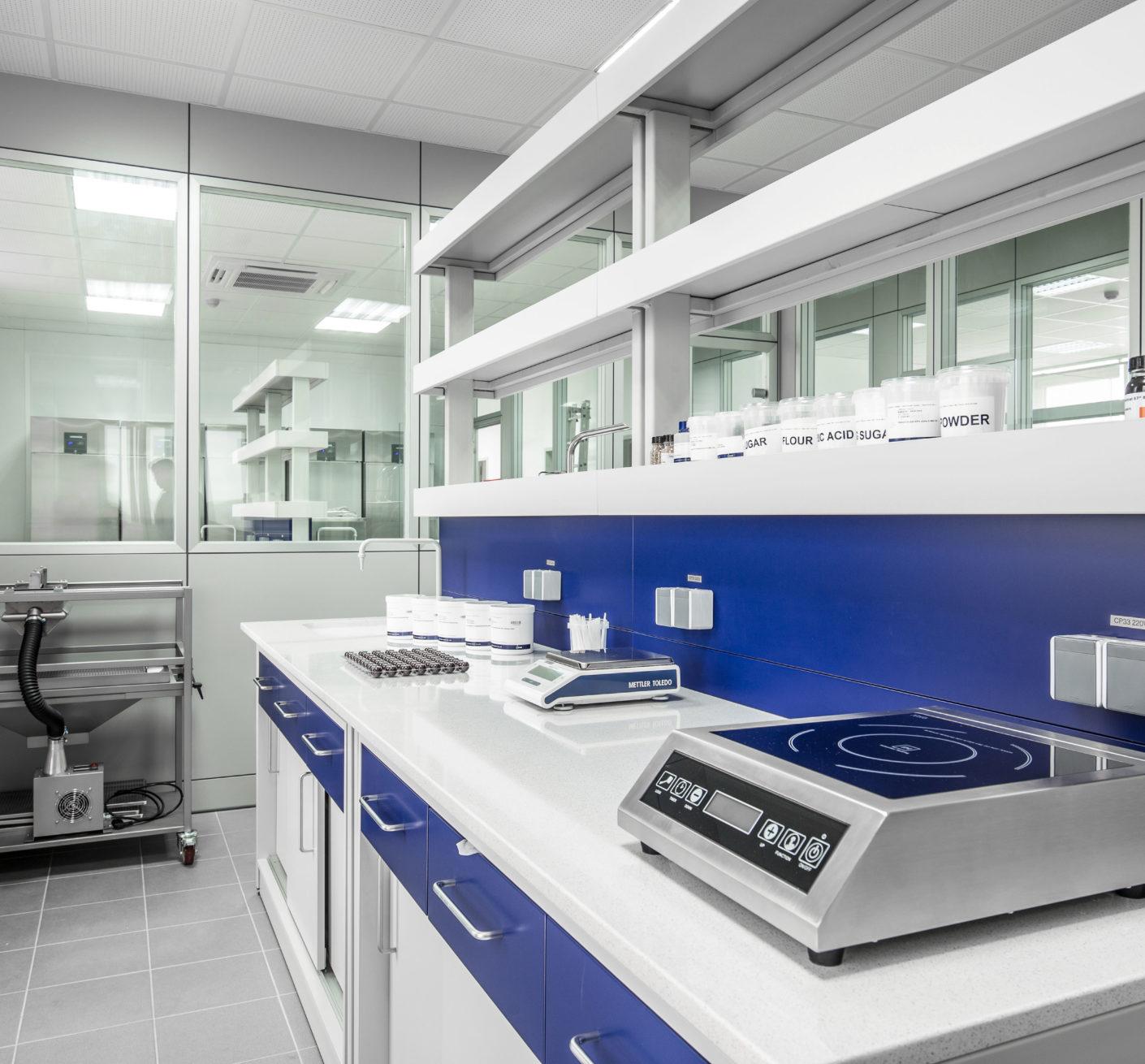 Amenajare laborator industria alimentara